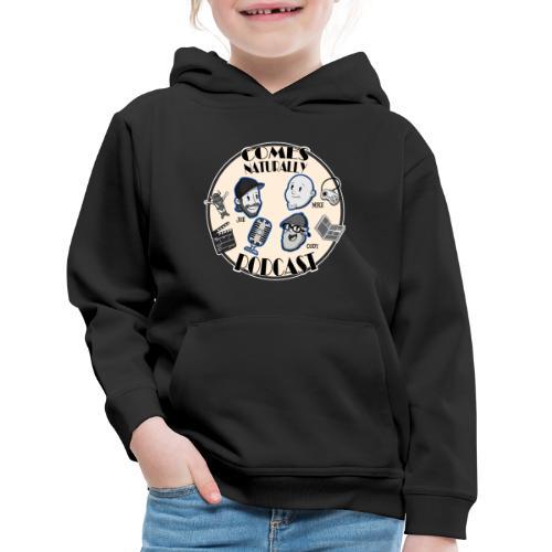 Comes Naturally Logo - Kids' Premium Hoodie