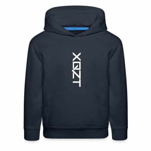 #XQZT Logo Snow White - Kids' Premium Hoodie