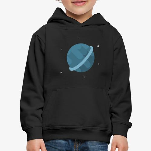 Tiny Blue Planet - Kids' Premium Hoodie