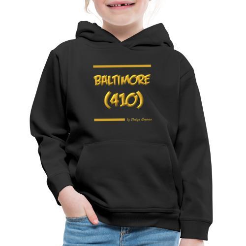 BALTIMORE 410 GOLD - Kids' Premium Hoodie