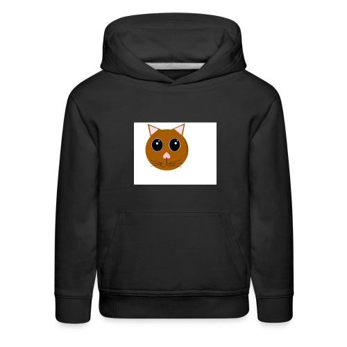 cute_cat - Kids' Premium Hoodie