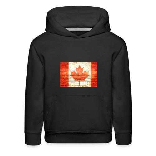 Canada flag - Kids' Premium Hoodie