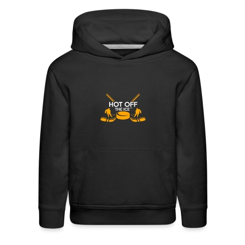 Hot Off The Ice - Kids' Premium Hoodie