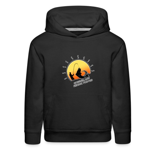 qld fishing logo - Kids' Premium Hoodie