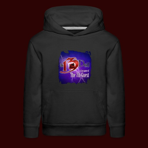 The 13th Doll Logo With Lightning - Kids' Premium Hoodie