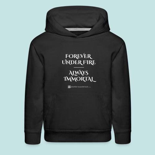 Always Immortal (white) - Kids' Premium Hoodie