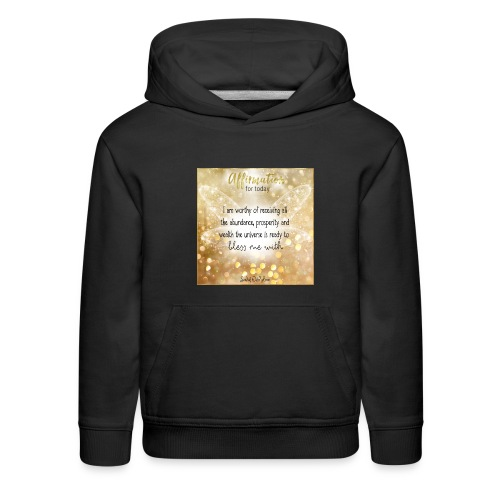 Abundance - Kids' Premium Hoodie