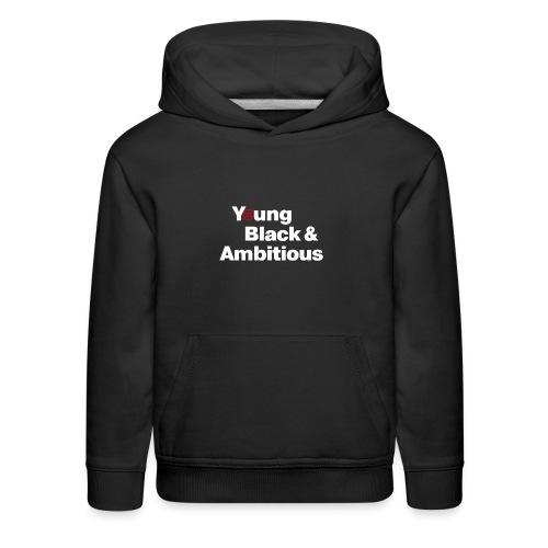 YBA Black Shirt2 - Kids' Premium Hoodie