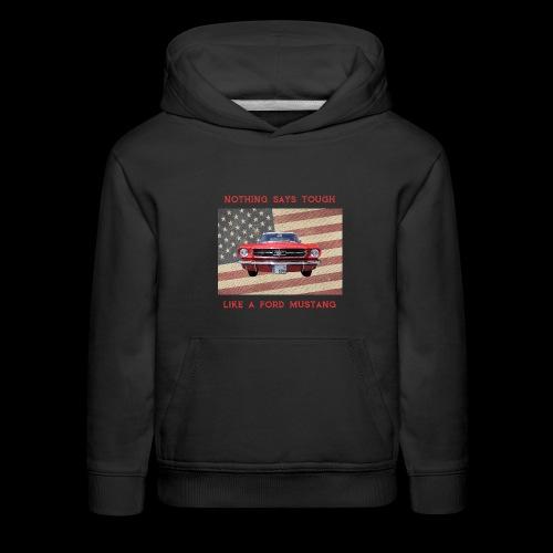 Mustang Tough - Kids' Premium Hoodie