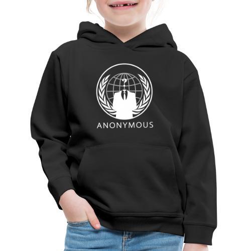 Anonymous 1 - White - Kids' Premium Hoodie