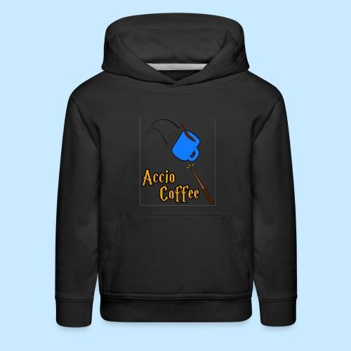 Accio Coffee MUG both v1 png - Kids' Premium Hoodie