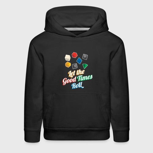 Let the Good Times Roll Dungeons & Dragons Dice - Kids' Premium Hoodie