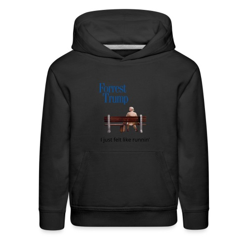 Forrest Trump - Kids' Premium Hoodie