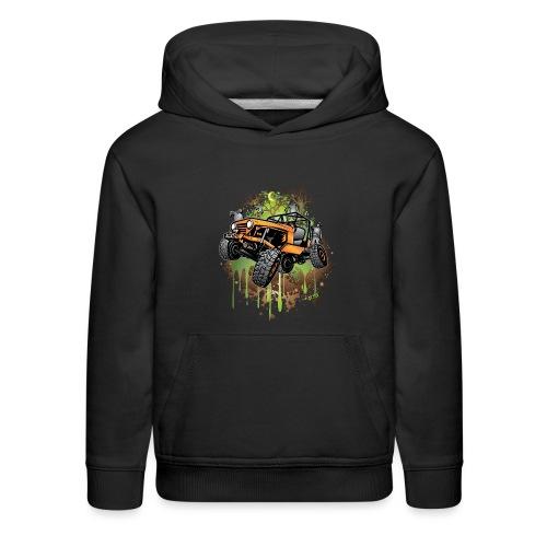 Wrangler Halloween Zombie - Kids' Premium Hoodie