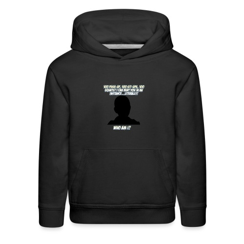 AnimeBusters Guess Who Series? -One Punch Man - Kids' Premium Hoodie