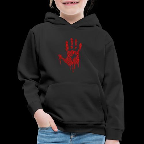 The Haunted Hand Of Zombies - Kids' Premium Hoodie