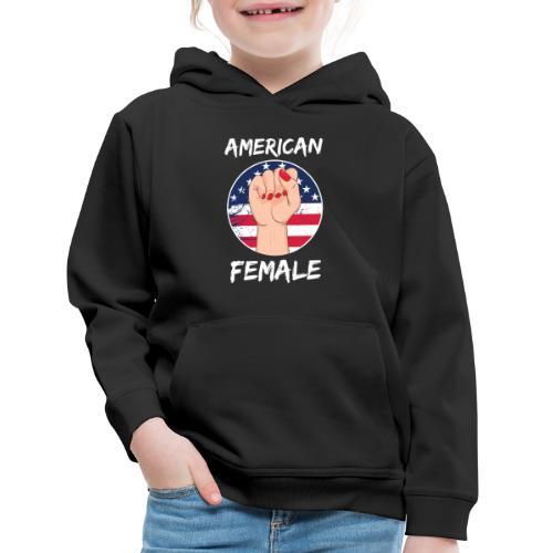 THE AMERICAN FEMALE - Kids' Premium Hoodie