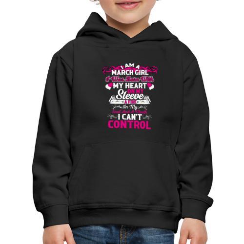 MARCH GIRL - Kids' Premium Hoodie