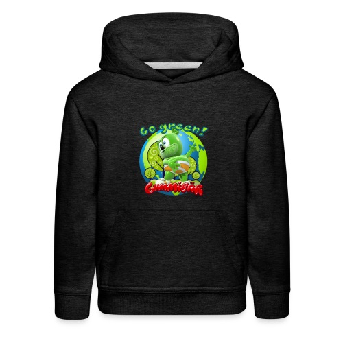 Gummibär Go Green Earth Day Earth - Kids' Premium Hoodie