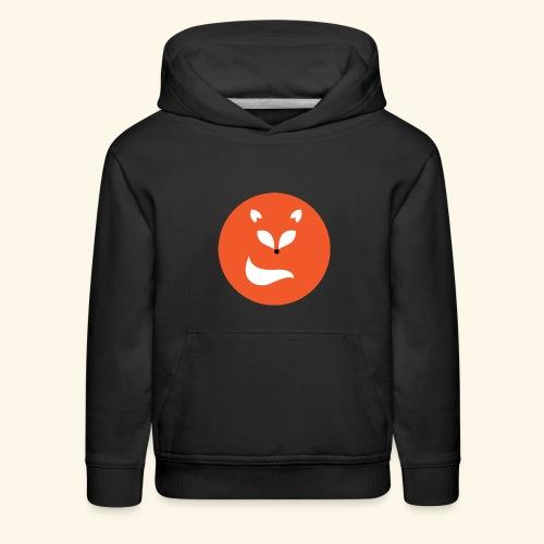 Orange fox - Kids' Premium Hoodie