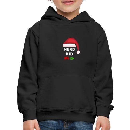Nerd Kid Santa - Kids' Premium Hoodie