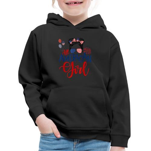 All American Girl - Kids' Premium Hoodie