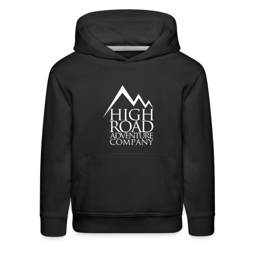 High Road Adventure Company Logo - Kids' Premium Hoodie