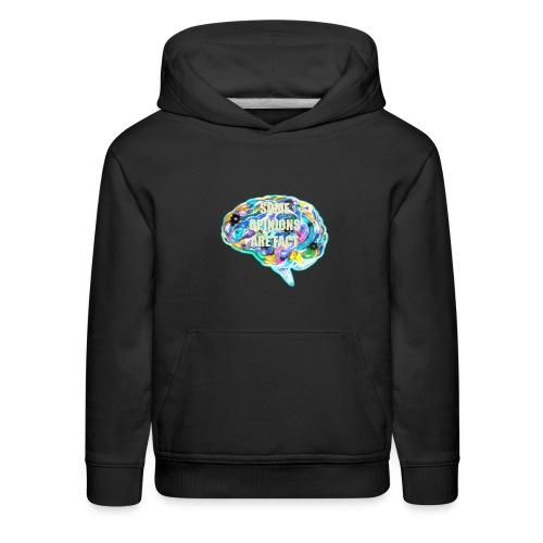 brain fact - Kids' Premium Hoodie