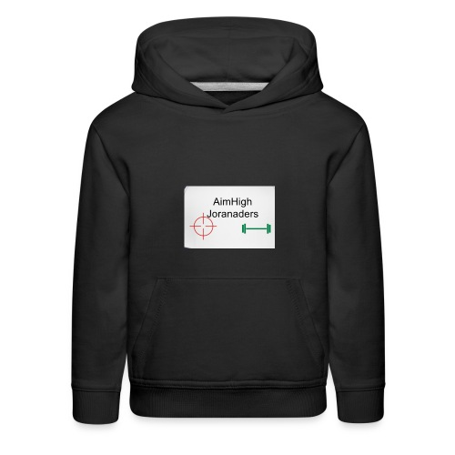 Gets you AimHigh merch - Kids' Premium Hoodie