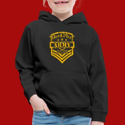 BloodShot ARMY Logo - Kids' Premium Hoodie