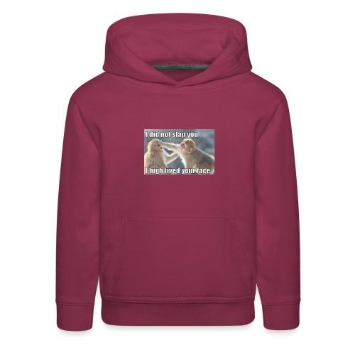 funny animal memes shirt - Kids' Premium Hoodie