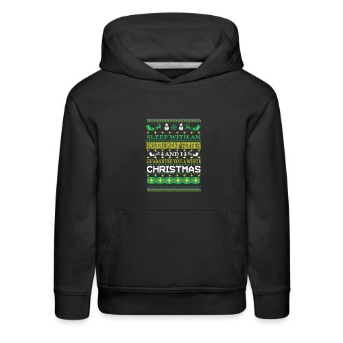 UGLY SWEATER INSTRUMENT FITTER XMAS T-SHIRTS - Kids' Premium Hoodie