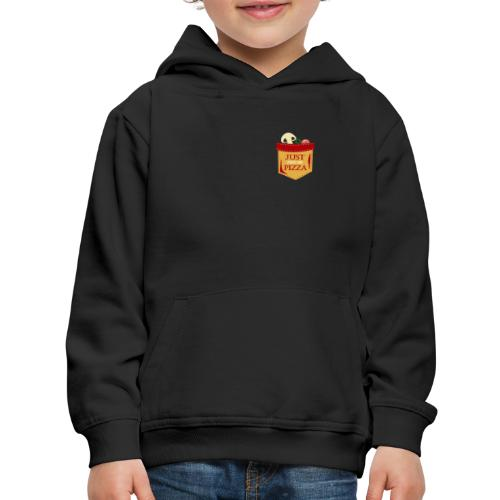 Just feed me pizza - Kids' Premium Hoodie