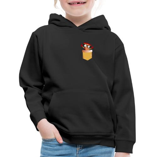 Pizza Lover pocket - Kids' Premium Hoodie