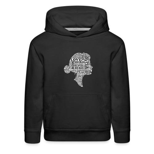 Mother Definition, Teacher Mom, Great Teacher Mom - Kids' Premium Hoodie