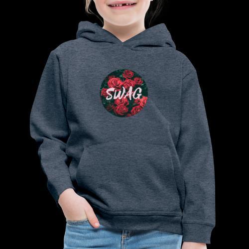 SWAG Flower - Kids' Premium Hoodie