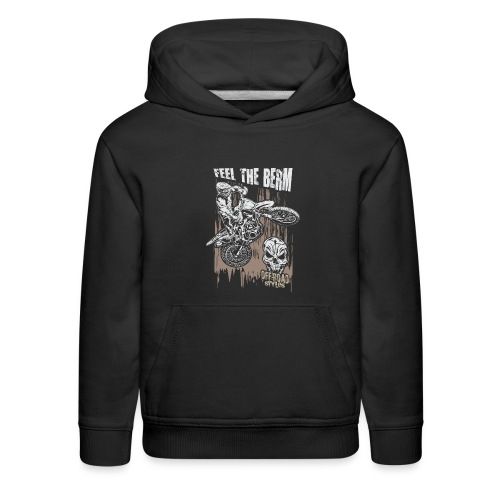 Motocross Feel The Berm - Kids' Premium Hoodie