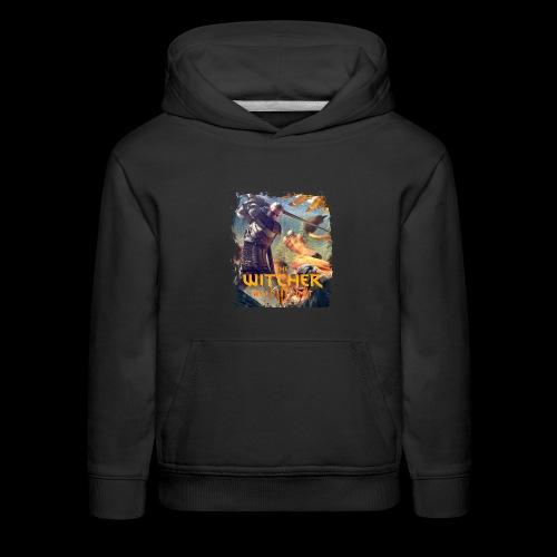 The Witcher 3 - Griffin - Kids' Premium Hoodie