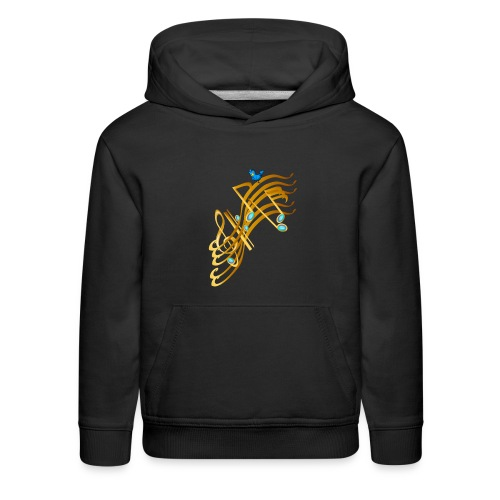 Golden Notes - Kids' Premium Hoodie