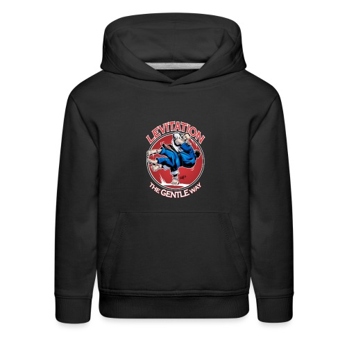 Judo Levitation for dark shirt - Kids' Premium Hoodie