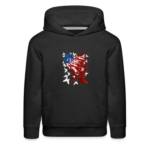 The Butterfly Flag - Kids' Premium Hoodie