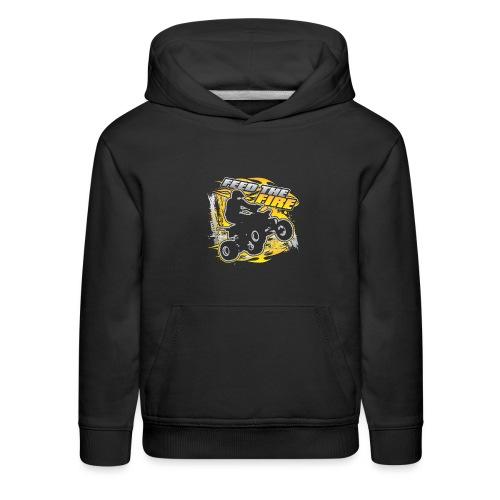 ATV Quad Feed the Fire - Kids' Premium Hoodie