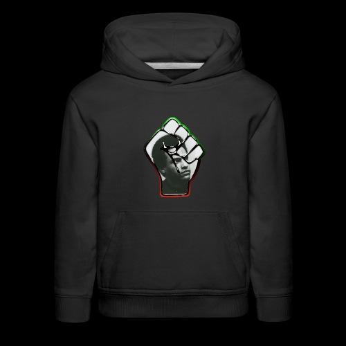 Huey Newton RBG Fist - Kids' Premium Hoodie