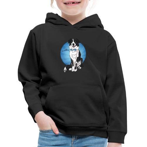 Border Collie Frankie Full Colour With Name - Kids' Premium Hoodie