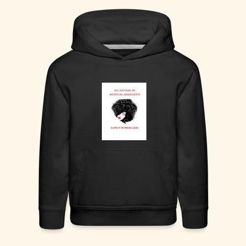 Afro - Kids' Premium Hoodie
