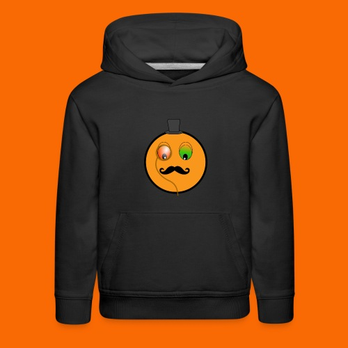 clipart a monocle 256x256 9ced png - Kids' Premium Hoodie