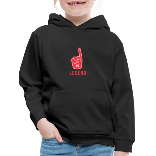 Number 1 Legend - Kids' Premium Hoodie