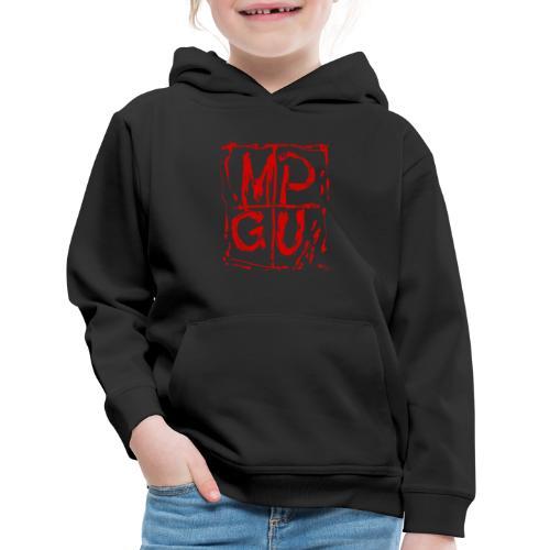 MPGU RED STROKE - Kids' Premium Hoodie