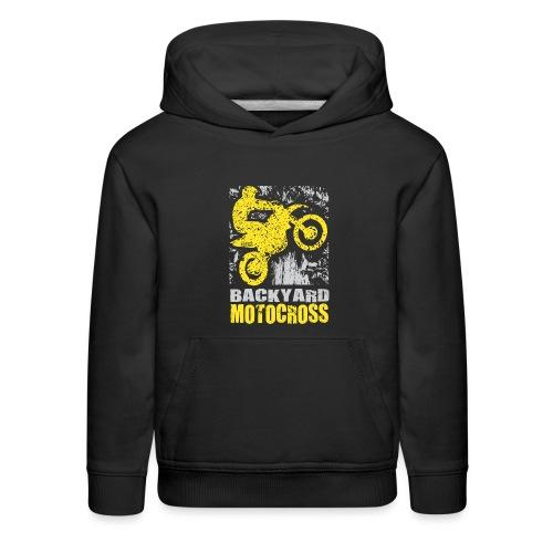 Backyard Motocross Suzuki - Kids' Premium Hoodie