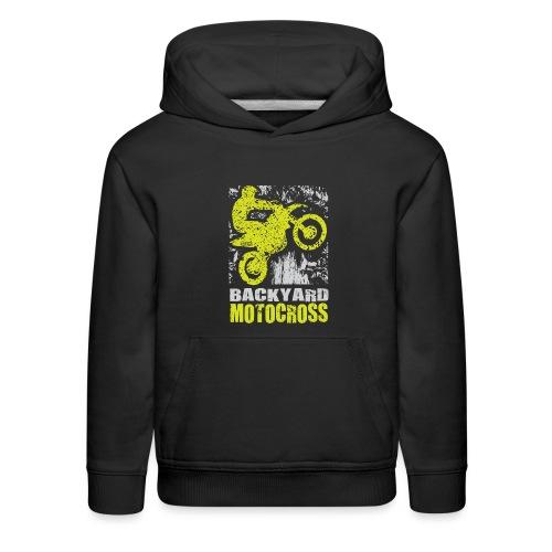 Backyard Motocross Kawasaki - Kids' Premium Hoodie